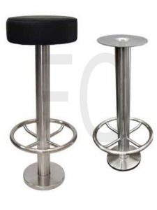 Bolt down stool SS_166
