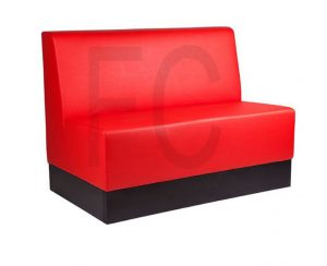 Roger banquette with plinth_Red_166