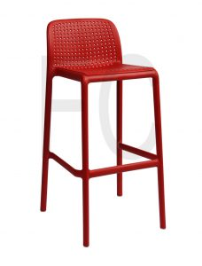 Selina stool_red_236