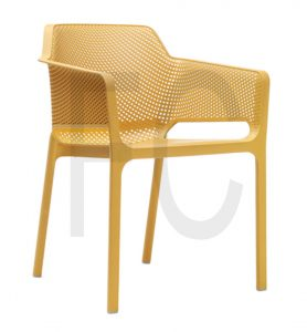 Sunny arm chair_mustard